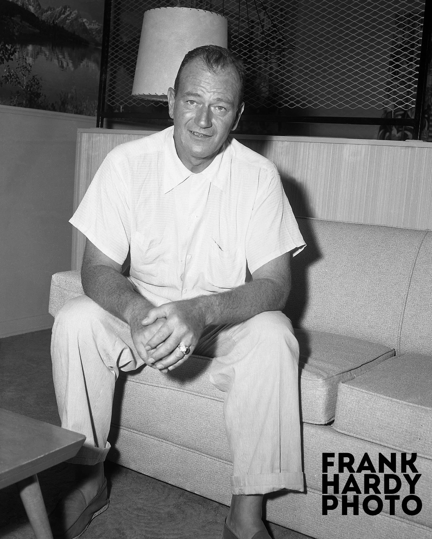 John Wayne | Frank Hardy Made My Photographs Two