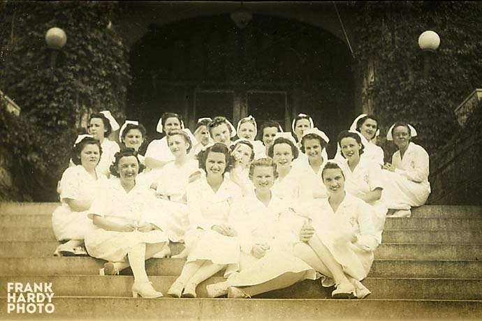 Nurses Out Front of Hospital   _ RTP _ SFW