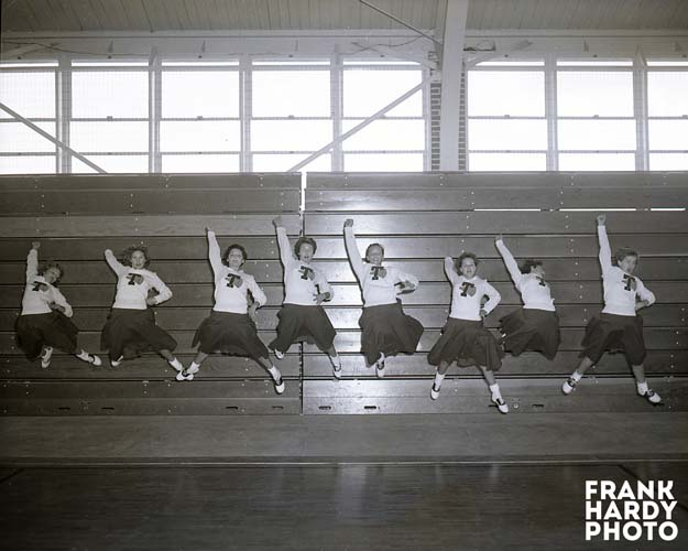 Tate Cheerleaders Jumping _ RTP _ SFW